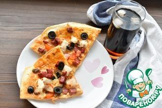 Рецепт: Пицца от пиццайола