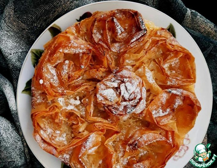 Рецепт: Молочный пирог Галотопита