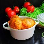 Тефтели в кремово-овощной подливе