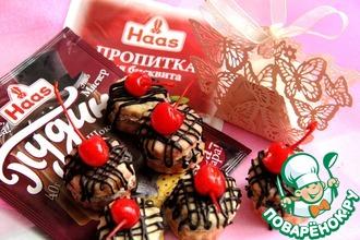 Рецепт: Шоколадные птифуры