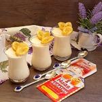 Десерт из ряженки Почти мороженое крем-брюле