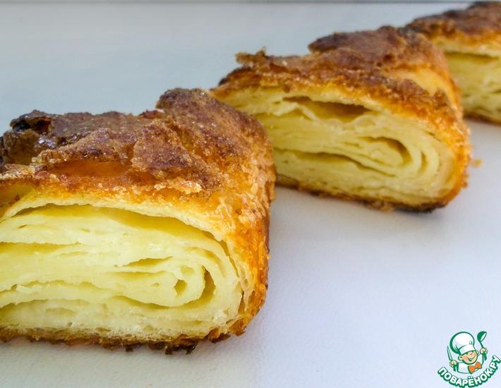 Рецепт: Печенье Гусиные лапки