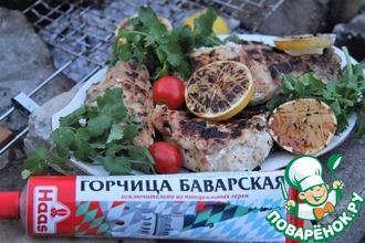 Рецепт: Курица-гриль с розмарином и горчицей