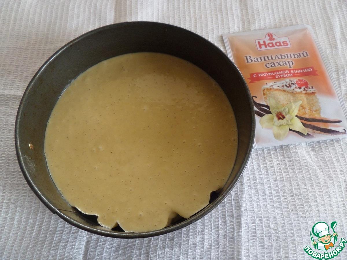 Трайфлы с ванильным кремом и клубникой