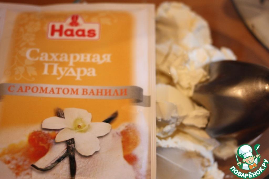 Персиковый чизкейк без выпечки