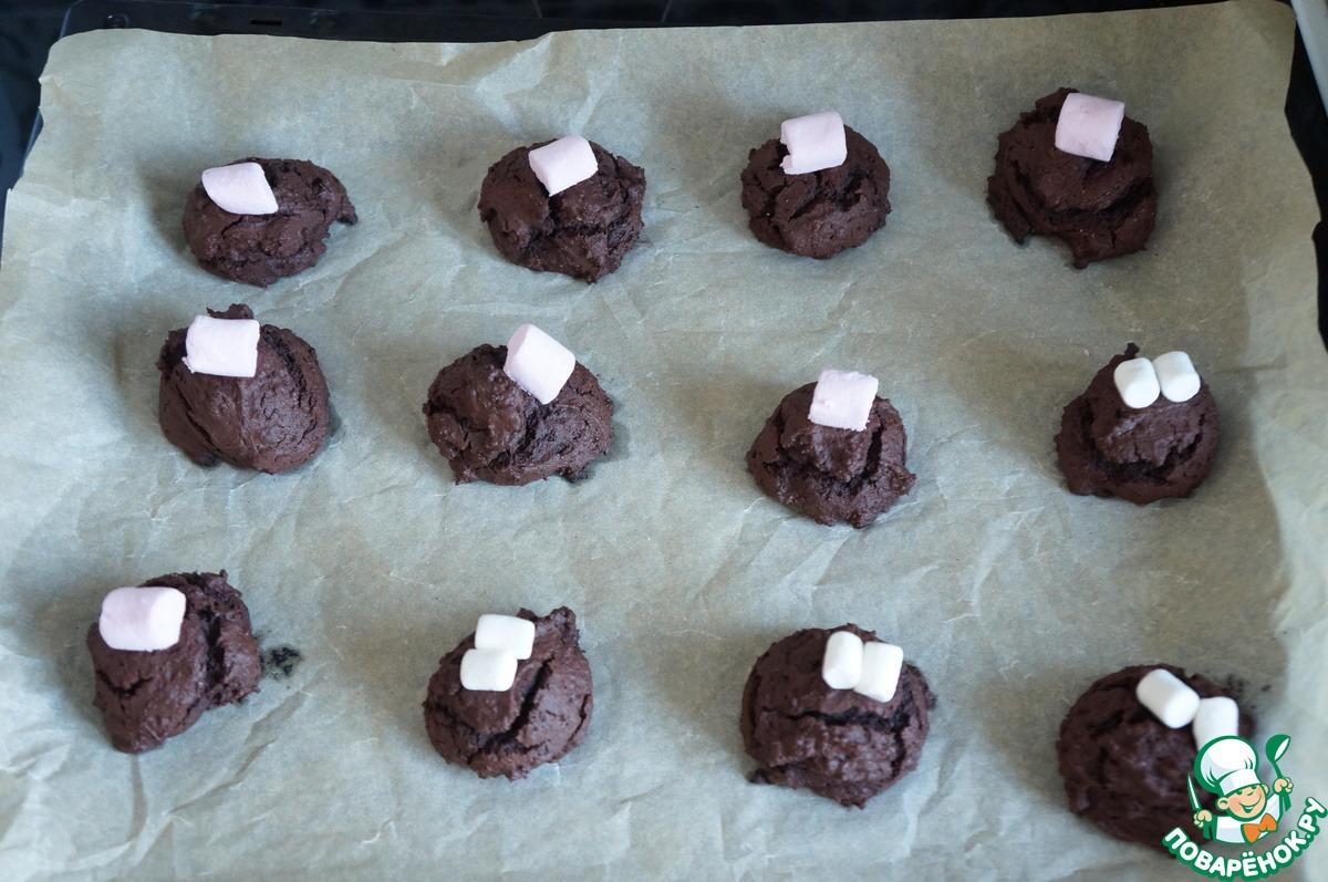 Шоколадное печенье с сюрпризом
