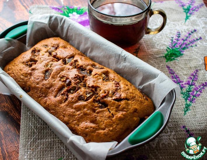 Рецепт: Кекс с финиками и орехами