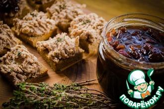 Рецепт: Луковый конфитюр с тимьяном