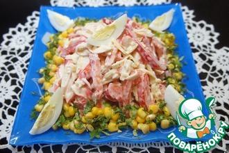 Рецепт: Салат Красное море