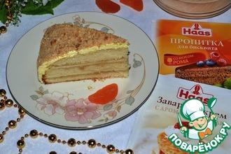 Рецепт: Торт Ромовый рай