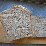 Чесночный хлеб на цельной муке