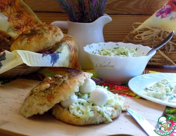 Рецепт: Салат с зелёной редькой