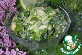 Рецепт: Лёгкий салат Весна Екатерины