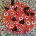 Цветная глазурь для заливки тортов