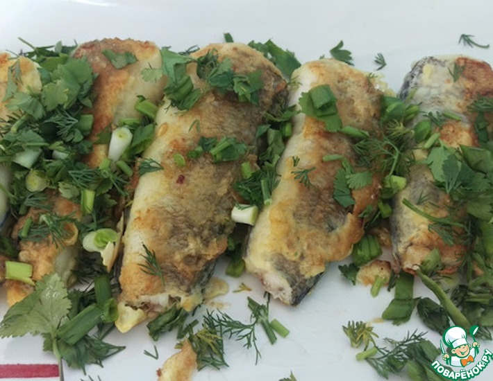Рецепт: Рыба в кляре
