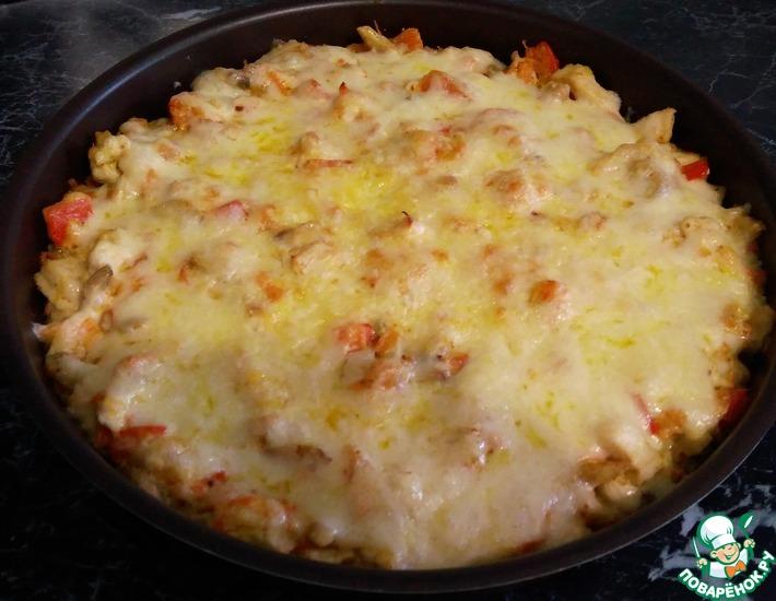 Рецепт: Макаронная запеканка а-ля лазанья