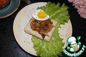 Рецепт: Луковые тарталетки