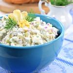 Салат с рыбой Уральский