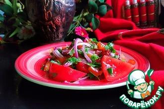 Рецепт: Салат Красное трио