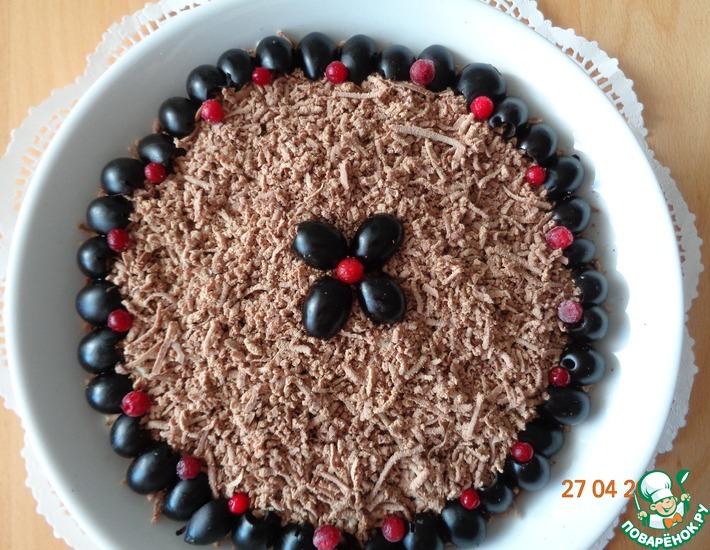 Рецепт: Салат Шоколадка