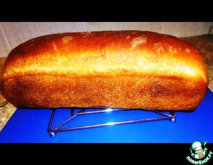 Рецепт: Хлеб на сыворотке