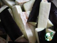 Липкие острые баклажаны ингредиенты