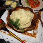 Картофельное пюре Чесночный бум