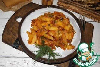 Рецепт: Картофель Студенческий