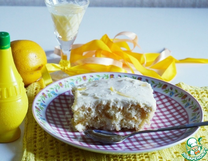 Рецепт: Лимонное тирамису