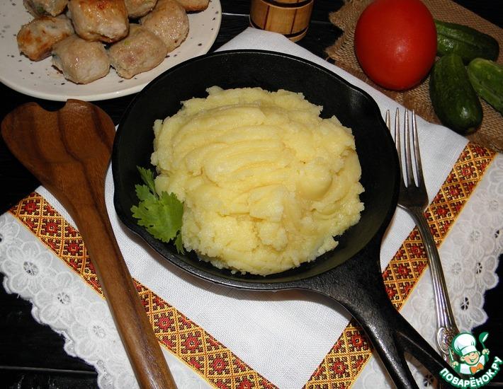 Рецепт: Картофельное пюре Жоэля Робюшона
