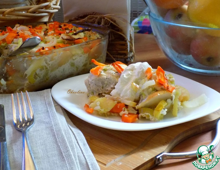 Рецепт: Диетические тефтели с добавлением кабачка