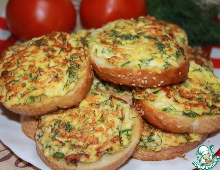 Рецепт: Бутерброды с сыром