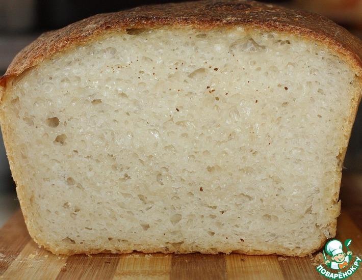 Рецепт: Рыбацкий хлеб на закваске