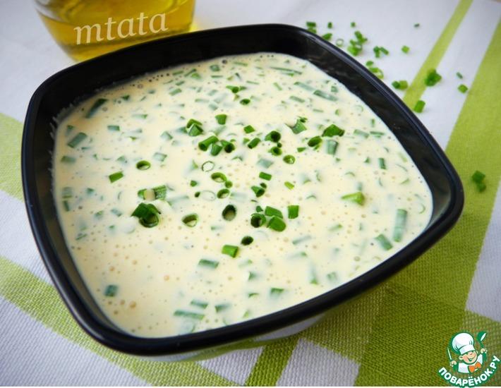 Рецепт: Медовый соус для овощей