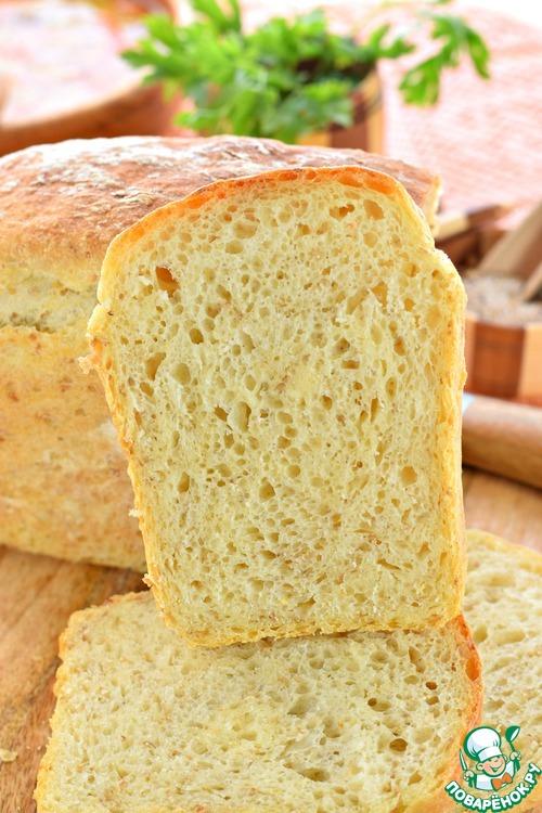 Хлеб без замеса поваренок