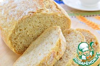 Рецепт: Хлеб отрубной без замеса