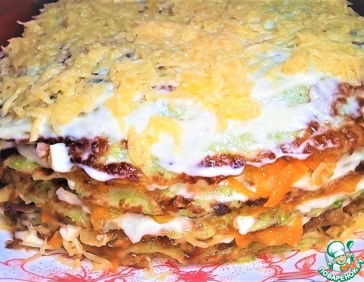 Рецепт: Торт из кабачка
