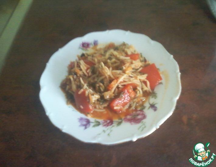 фаршированный перец рецепт ленивый