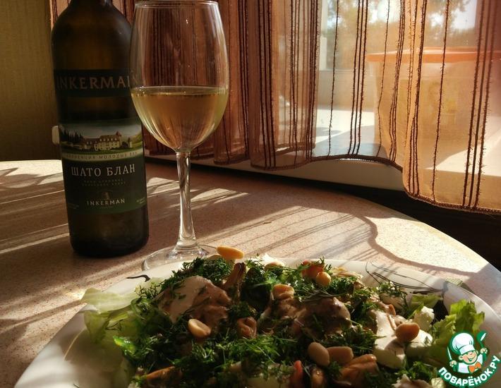 Рецепт: Салат Средиземноморское чудо