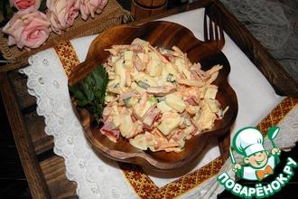 Рецепт: Яичный салат Простое удовольствие