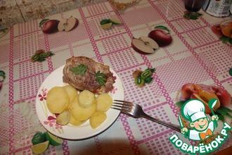 Рецепт: Упрощенный рецепт картофеля Анна в фольге