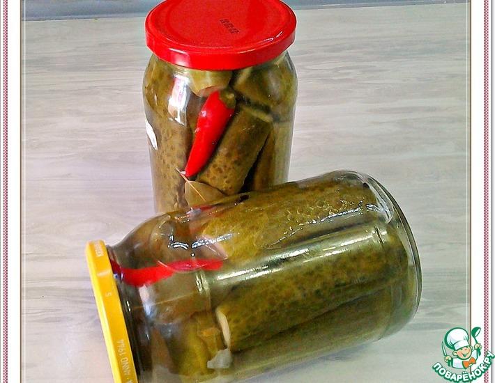 Рецепт: Огурцы маринованные «По-волгоградски»
