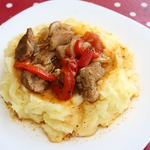 Свинина с овощами по-болгарски