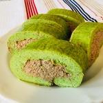 Закусочный рулет Зелёный