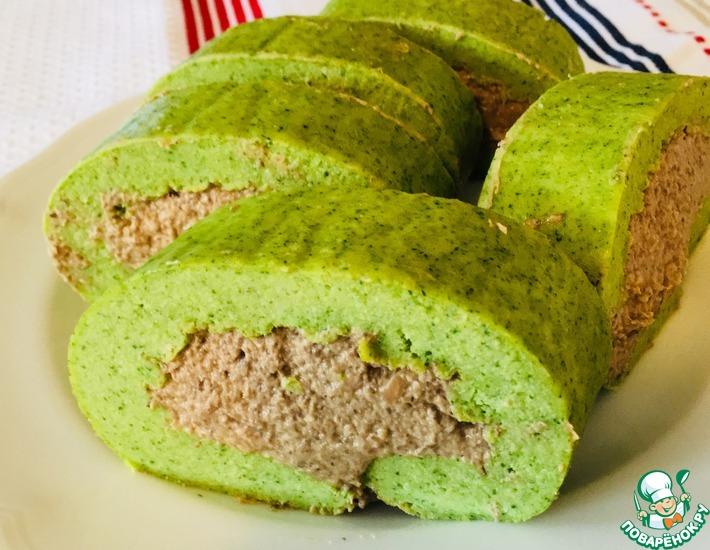Рецепт: Закусочный рулет Зелёный