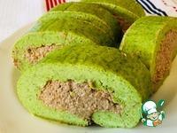 Закусочный рулет Зелёный ингредиенты