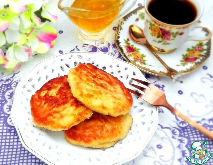 Рецепт: Сырники творожно-картофельные с отрубями