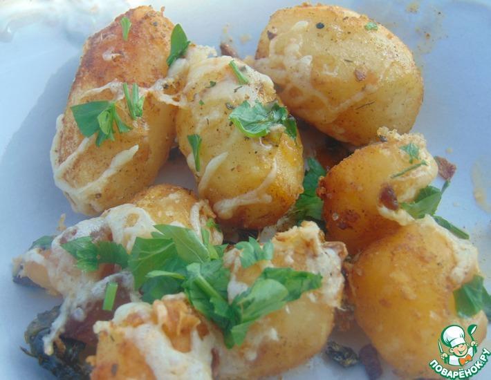 Рецепт: Итальянский жареный картофель