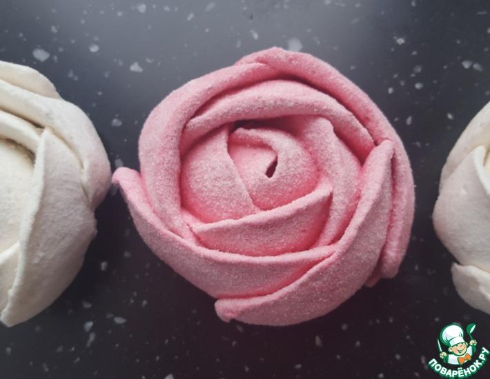 Зефирные розы