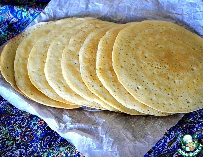 Рецепт: Марокканские блины Багхрир